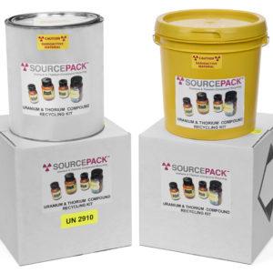 Uranium & Thorium Chemical Compound Recycling: Mail-Back Kits