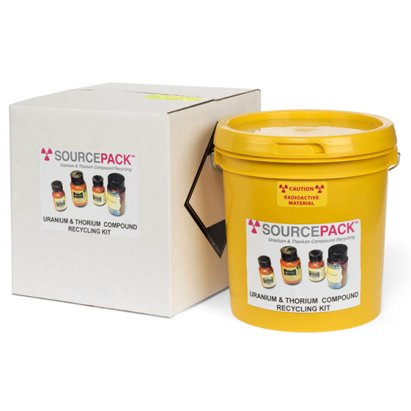 SourcePack Uranium & Thorium Chemical Compound Recycling Kit (DOT Dual Class)