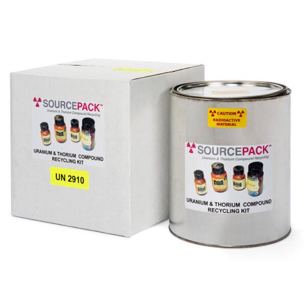 SourcePack Uranium & Thorium Chemical Compound Recycling Kit (DOT Class 7)
