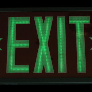 Exit Sign Recycling