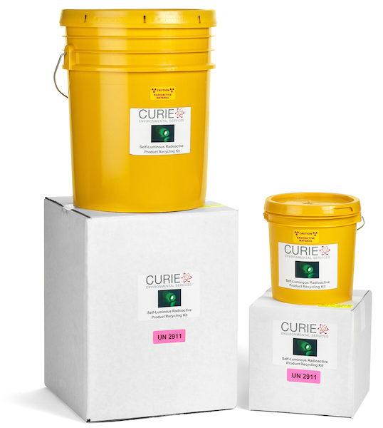 Tritium (H-3) Self-Luminous Radioactive Product Recycling: Mail-Back Kits